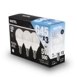 LAMPARA LED 5W 6400K PACK 3UDS